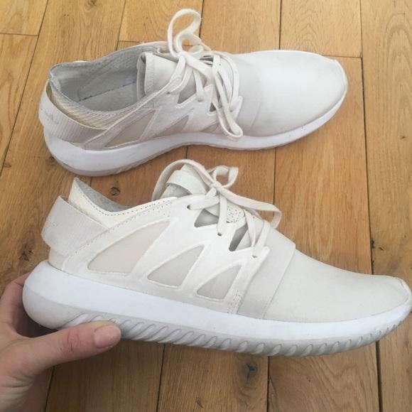 le adidas offwhite tubulare, scarpe da ginnastica poshmark